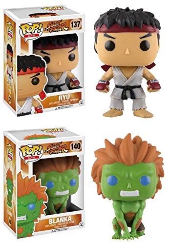 Funko Pop Pack Ryu + Blanka (Street Fighter) Funko Pop Street Fighter