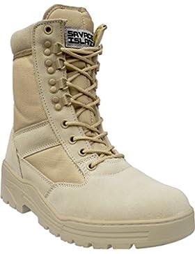 Wüste Armee Combat Patrol Tactical Einsatzstiefel mit Reissverschluss Seude Leder Jungle Stiefel Tactical Boot