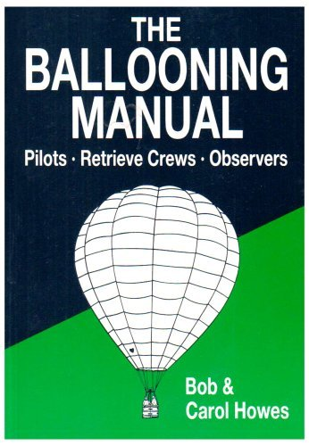 The Ballooning Manual: Written by Bob Howes, 1991 Edition, Publisher: The Crowood Press Ltd [Paperback]