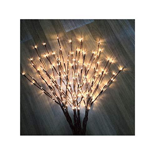Zweig Baum Mit Lichtern - Baum LED Licht Lichterkette Kupferdraht Leuchtzweig