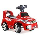 Bopster Kinder Kleinkinder ziehbares Tret Sportwagen BMW Rot