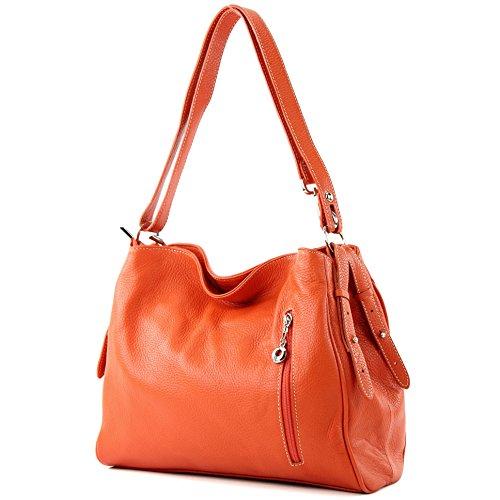 modamoda de - Made in Italy , Sac pour femme à porter à l'épaule Voir description Orange
