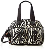 Kipling Women's Defea Top-Handle Bag, Multicolor (59Q Black Zebra B), 33x24.5x19 cm (B X H X T)