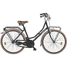 Cicli Gloria LHT26000 Bicicletta Barona Holland 26, nero matte