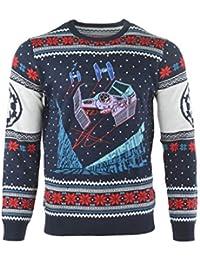 Star Wars Jersey De Navidad Tie Fighter Battle of Yavin Unisexo