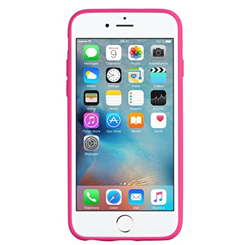 "Coque pour Apple iPhone 6S / 6 , IJIA Rose Mignon Licorne TPU Doux Silicone Bumper Case Cover Shell Housse Etui pour Apple iPhone 6S / 6 (4.7"") rose"