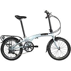 """2017Dahon qix D820""""rueda de bicicleta plegable 8velocidades 11,9kg"""