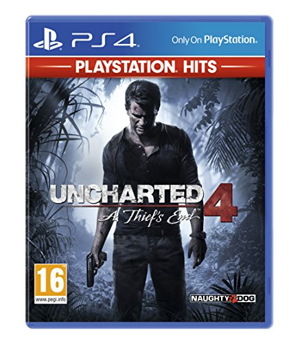 Uncharted 4: A Thief's End - PlayStation Hits - PlayStation 4 [Edizione: Regno Unito]
