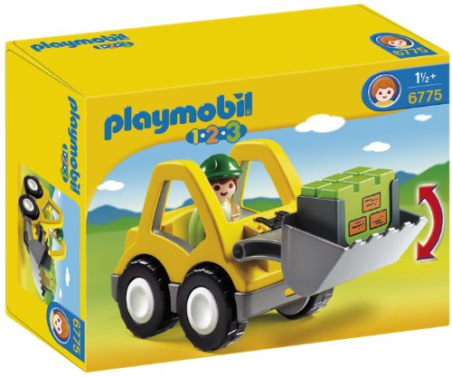 playmobil 123 tracteur