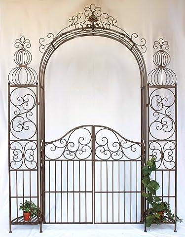 DanDiBo Ambiente 120853 Arche à roses en fer forgé avec