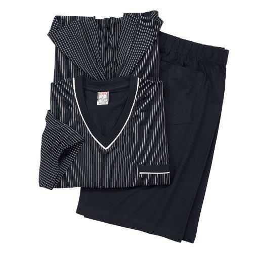 Adamo Ensemble pyjashort bleu foncé grande taille jusqu'au 10XL Adamo