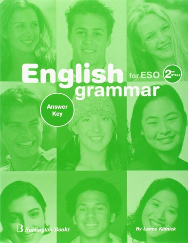 English Grammar Workbook For ESO. 2nd Cycle - Answer Key