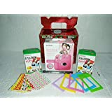 Fuji Instax Mini 9 Bundle Pack Combo Offer - ( Flamingo Pink Camera + 2 Twin Pack Films + Accessories)