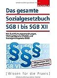 Das gesamte Sozialgesetzbuch SGB I bis SGB XII: Mit Durchführungsverordnungen, Wohngeldgesetz (WoGG) und Sozialgerichtsgesetz (SGG); Erscheint zweimal jährlich