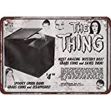 1966familia Addams la cosa reproducción de aspecto Vintage Metal Sign