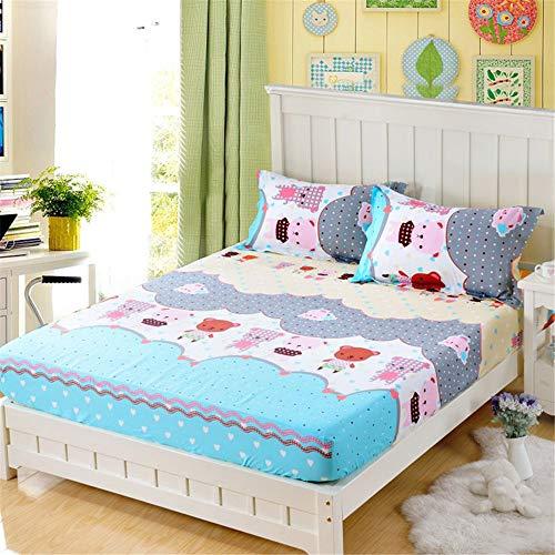 Huyiming Utilizado Cubierta colchón Cama algodón