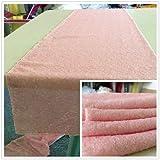 Trlyc, tovaglia decorativa da tavolo, di forma rettangolare, con paillettes, decorazione scintillante per matrimoni e feste, 33x 213,4cm, disponibile in vari colori, Altro, Blush Pink, Qty: 1