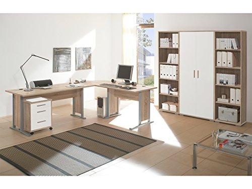 Regalwand Aktenschrank Büroschrank Schrankwand Büromöbel Regal