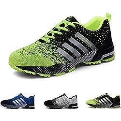 Zapatillas de Deporte Hombres Zapatos de Gimnasia para Caminar de Peso Ligero Zapatillas de Deporte Zapatos Deportivos para Hombre