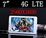 ARBUYSHOP Octa Core 6 pollici Tablet PC 4G LTE telefono cellulare 3G Sim Card Slot fotocamera 4GB di RAM 13.0MP IPS 2560X1600 GPS WIFI di GSM WCDMA pc 89 10, Argento 32G versione, Aggiungi Headphon 64G