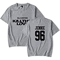 Casual Gran Tamaño Suelto Camiseta Unisexo Camiseta / B1 / L