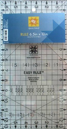 EZ Quilting Acryl-Nähvorlage 16,5x33cm (33% Acryl)