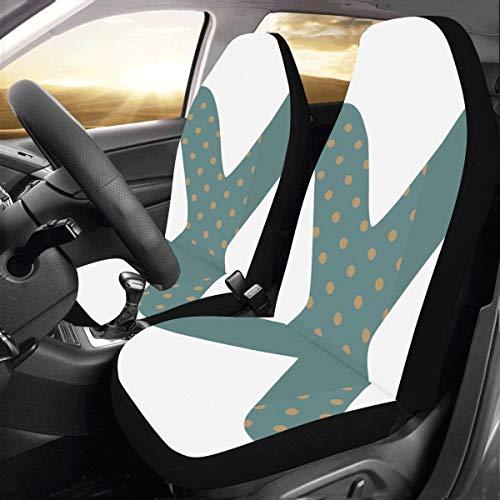 s Design Benutzerdefinierte Neue Universal Fit Auto Drive Autositzbezüge Schutz Für Frauen Automobil Jeep Lkw Suv Fahrzeug Full Set Zubehör Für Erwachsene Baby (set Von 2 Vorne) ()