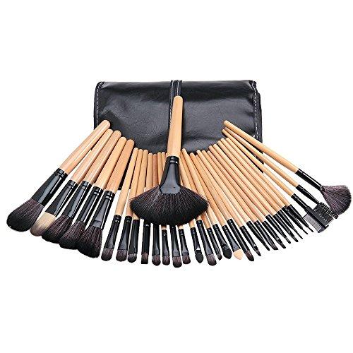 Aozzy 32pcs Professionnel Maquillage Kit Pinceaux pour Beauté & Make-up