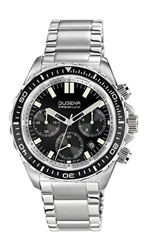Dugena Herren-Armbanduhr NAUTICA XL CHRONO Chronograph Quarz Edelstahl 7090174