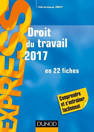 Droit du travail 2017 - 21e éd. - en 22 fiches