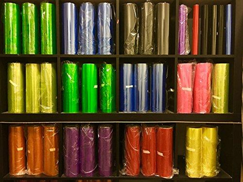 Scheinwerfer Folie Flexi Autofolie Blasenfrei oft korrigierbar (Gelb 20cm)10€/1qm