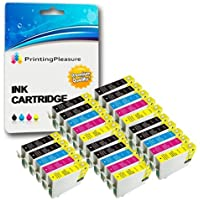 25 Cartucce d'inchiostro compatibili per Epson Stylus Photo R240, R245,