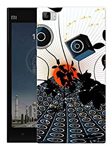 """Humor Gang Speaks And Music Printed Designer Mobile Back Cover For """"Xiaomi Redmi MI3"""" (3D, Matte Finish, Premium Quality, Protective Snap On Slim Hard Phone Case, Multi Color)"""