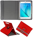 DressMyPhone Universal Tablet Synthetic Leather Flip Cover For Any 8 inch Tablet (Red )