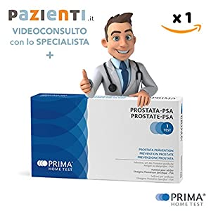 Erste Test Prostata PSA + videoconsulenza 15min
