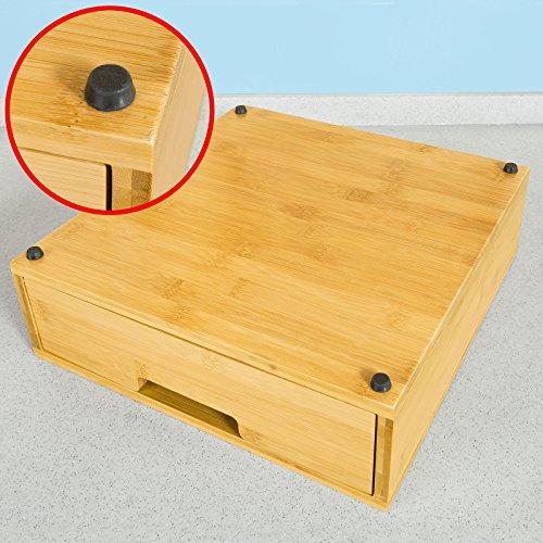 SoBuy FRG Porte-Capsules, Boîte de rangement à tiroirs pour capsules ...