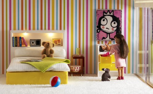 Imagen principal de Lundby 60.9031.00 Stockholm - Cuna y cambiador para casa de muñecas