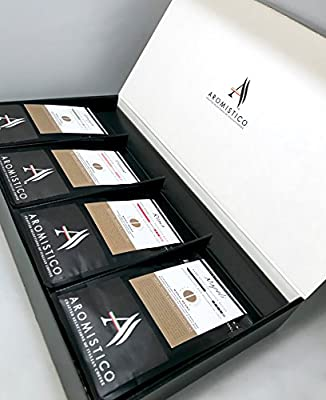 AROMISTICO Coffee - Variety Classic Coffee Gift Set Hamper Box by Arca S.r.l.