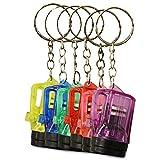 24 x HC 915711 Schlüsselanhänger Taschenlampe Lampe Vapor Kunststoff 4 cm...