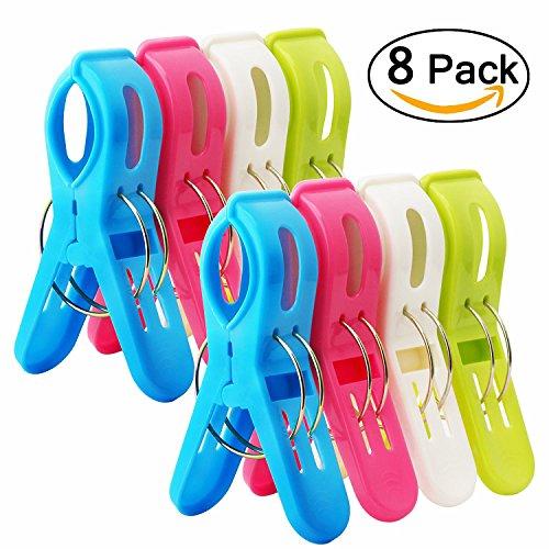 oße plastic beach handtuch clips, wäscheklammern kunststoff clips quilt clips für tägliche wäsche, großes strandtuch, schwere badetuch, dicke teppich,strandtuch,badetuch etc (Wäscheklammer-flugzeug)