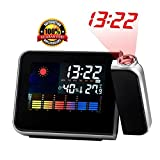 # Premium Quality # LCD Projection Alarm Clock With Weather Station - **With FREE USB WIRE ** LIMITED STOCK***