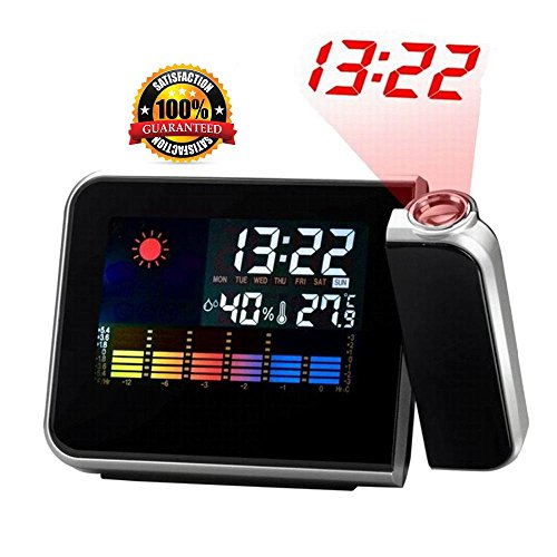 # NO.1 Quality Projection Clock - Projection Alarm Clock With Weather Station - **With FREE USB WIRE ** LIMITED STOCK***