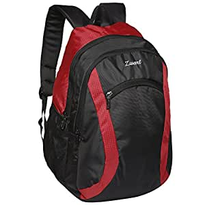 Zwart Black And Red 30 Ltrs Backpack