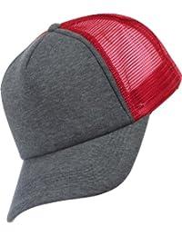 MSTRDS Herren Caps / Trucker Cap Baseball Jersey rot Verstellbar