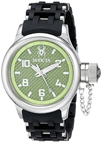 Invicta Men's 17788 Russian Diver Analog Display Swiss Quartz Black Watch image