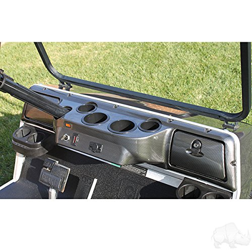 ash - Carbon Fiber by Red Hawk (Ezgo Dash)