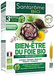Bien-Être du Foie Bio| Complément Alimentaire Foie et Digestion - A base d'Artichaut et Radis Noir | 20 Am