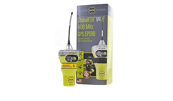 Programmato per la registrazione Italiana ACR GlobalFix V4 Cat 2 EPIRB Manual