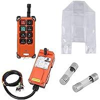 Akozon 24VDC Sistemas de control remoto de Radio de Velocidad, Receptor y Transmisor