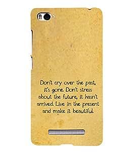 PrintVisa Designer Back Case Cover for Xiaomi Mi 4i :: Xiaomi Redmi Mi 4i (Quote Love Heart Messages Crazy Express Sorry )